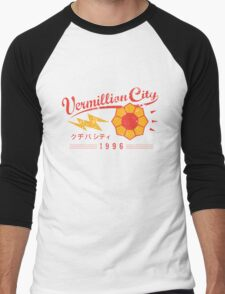 Vermillion City Gym Men's Baseball ¾ T-Shirt