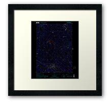 USGS TOPO Map New Hampshire NH Farmington 329560 2000 24000 Inverted Framed Print