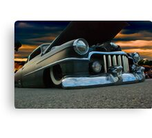 Dark And Low Canvas Print