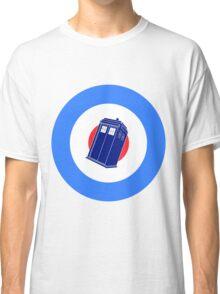 TARDIS Mod Target Classic T-Shirt