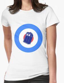 TARDIS Mod Target Womens Fitted T-Shirt