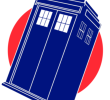 TARDIS Mod Target Sticker