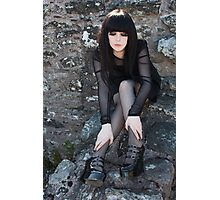 A Gothic Beauty Photographic Print