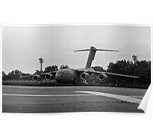 C-17 Globemaster Taxi Poster