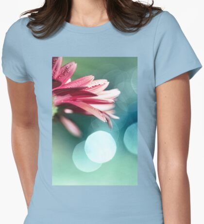Nature's Dreaming Womens Fitted T-Shirt