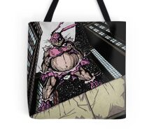 The Pink Bunny Saves Tote Bag