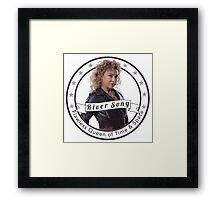 River Song logo Framed Print