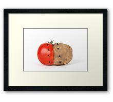 Tomato and Potato Framed Print