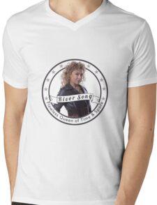 River Song logo Mens V-Neck T-Shirt