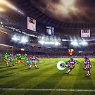 Soccer Brawl pixel art by smurfted