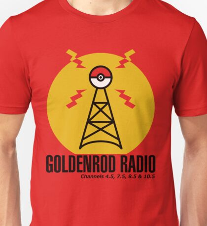 Goldenrod Radio Unisex T-Shirt