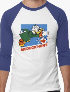 Scrooge McDuck Hunt Men's Baseball ¾ T-Shirt