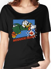 Scrooge McDuck Hunt Women's Relaxed Fit T-Shirt