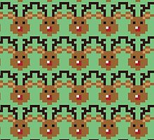Pixel Rudolph by Claire Belyea