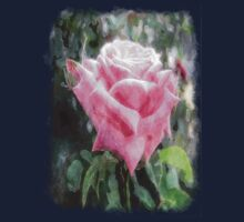 Pink Roses in Anzures 6 Watercolor Kids Clothes