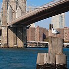 Brooklyn Bridge Photographic Print by W. Lotus