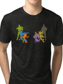 Clash of Heroes Tri-blend T-Shirt
