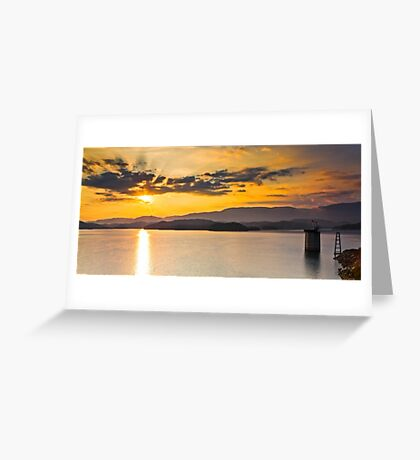 Holston Sunrise Greeting Card