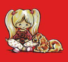 Cocker Spaniel Comforter Kids Tee