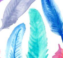 Falling Feathers Sticker