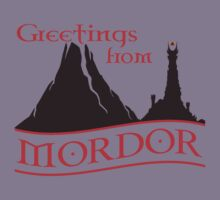 Greetings from Mordor by kingUgo