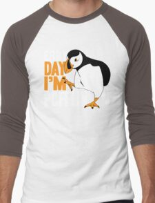 Erry Day I'm Pufflin Men's Baseball ¾ T-Shirt