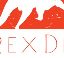 T-Rex Deer Sticker