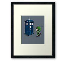 Time Travel Ocarina Framed Print