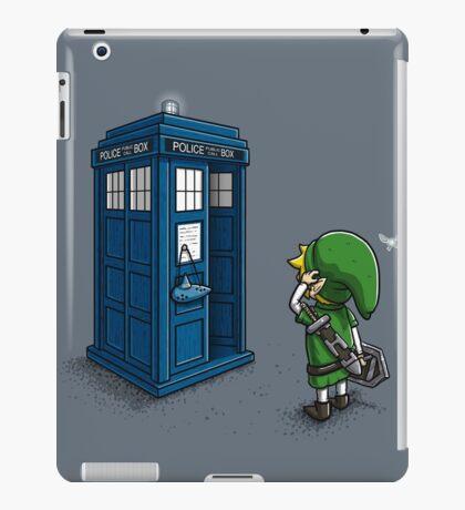 Time Travel Ocarina iPad Case/Skin
