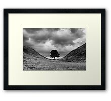 Sycamore Gap Framed Print