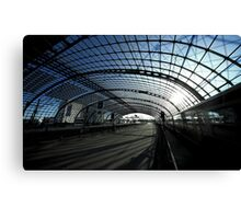 Berlin central Station Canvas Print