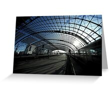 Berlin central Station Greeting Card