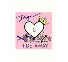 Daya Hide away top Art Print