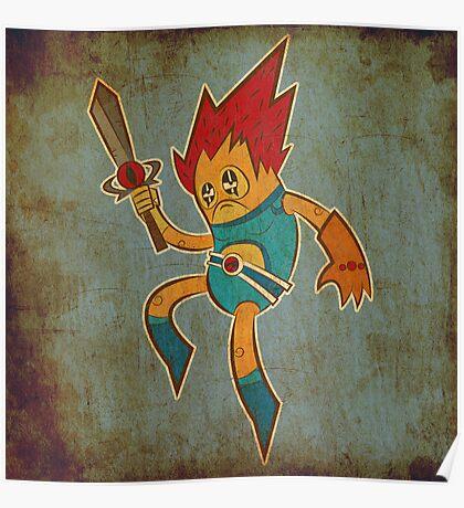 Lion O Poster