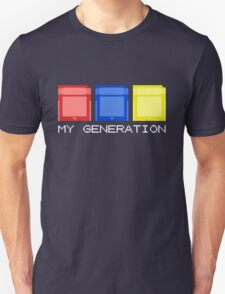 Red Blue Yellow Generation T-Shirt