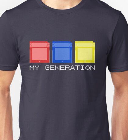 Red Blue Yellow Generation Unisex T-Shirt