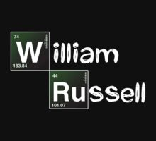 Breaking Bad Personalised / William Russell by RudieSeventyOne