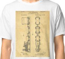 Toy Train Patent Classic T-Shirt
