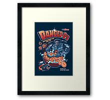 Danger-O's Framed Print