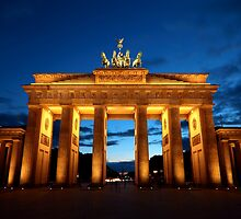 Berlin, Brandenburger Tor by remos