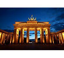Berlin, Brandenburger Tor Photographic Print