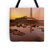 Landmark Sunset Tote Bag