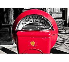 Positive Change Photographic Print
