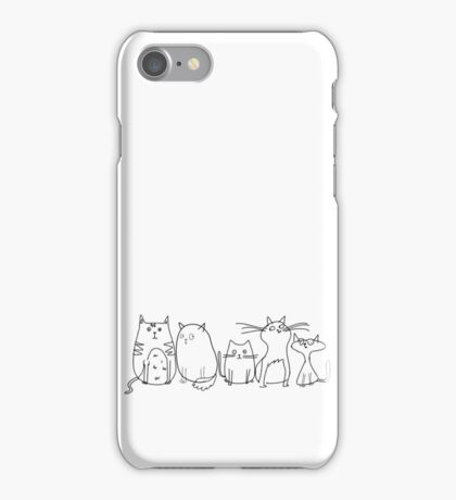 Cute and Funny Crazy Cat Lady iPhone Case/Skin