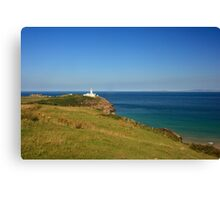 Lighthouse At Fanad Canvas Print