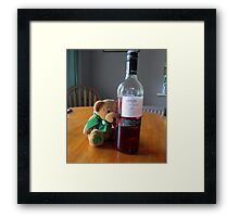 hiccup hiccup oh my head Framed Print
