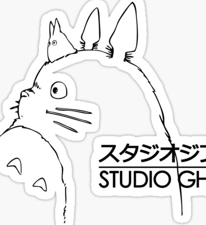 Studio Ghibli Totoro Sticker