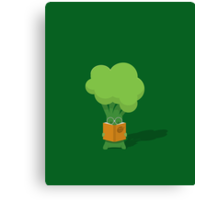 Broccoli student Canvas Print