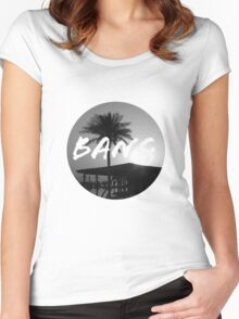 Sunset Bang Women's Fitted Scoop T-Shirt