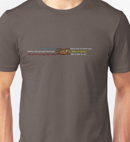 Dialogue Effect T-Shirt
